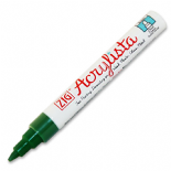 Green Apple Zig Acrylista 6mm chisel tip paint marker